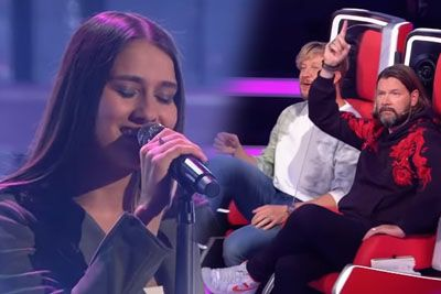 Woman Performs Lady Gaga's Song On The Voice Of Germany 2020