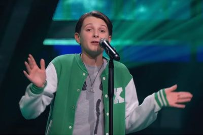 Boy Marius Sings