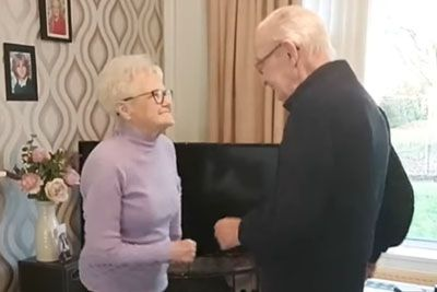 Grandma And Grandpa Steal The Spotlight With Their Dance Video