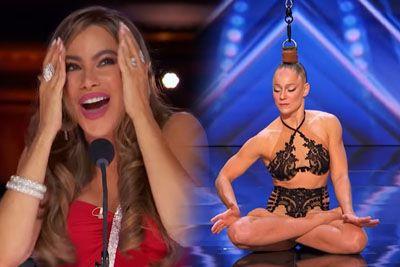 Danila Bim Excites The AGT Judges With Hair Suspension Aerial