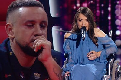 Woman On A Wheelchair Sings 'Human', Blows The Voice Judges Away