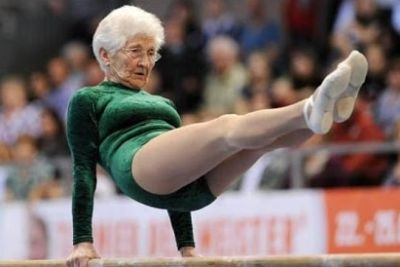 Oldest Gymnast On The World, Who Is 91 Years Old