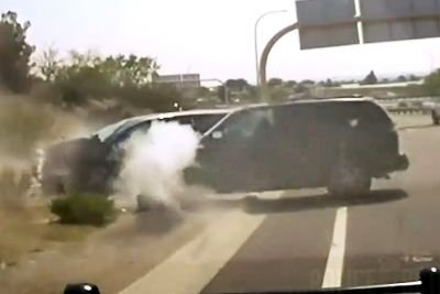 12-Year-Old Takes Police On A Wild Chase Before Crashing Into Another Car