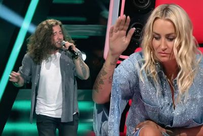 Oliver Zinhobl Sings 'This Is The Life' In The Voice Of Germany 2021