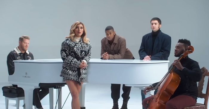 """Just Released Pentatonix Christmas Song """"Thank You"""" Goes Viral   Klipland.com"""